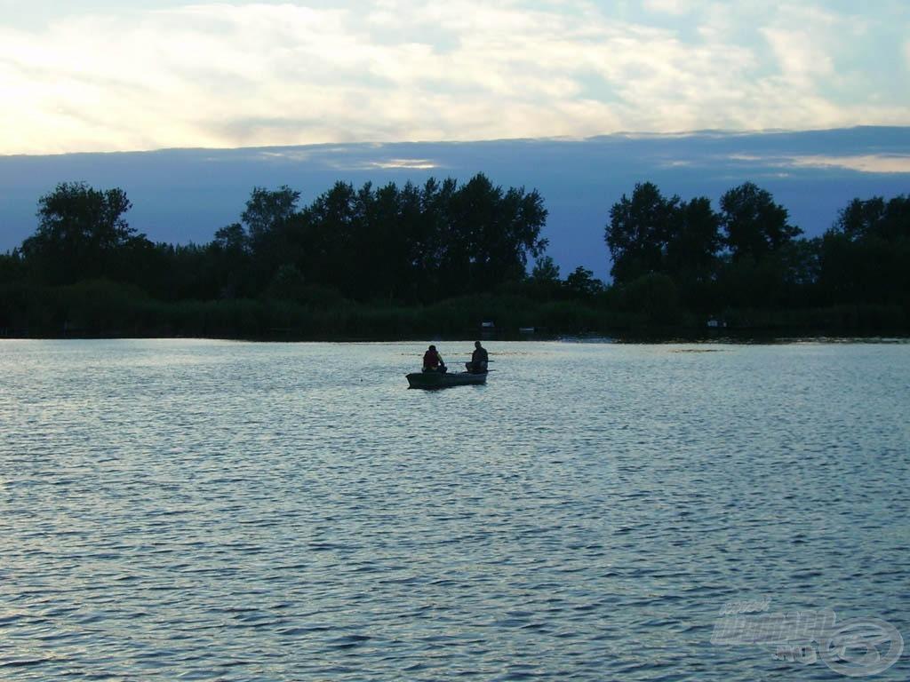 Egyhetes horgásztúra a Ráckevei  -Dunán