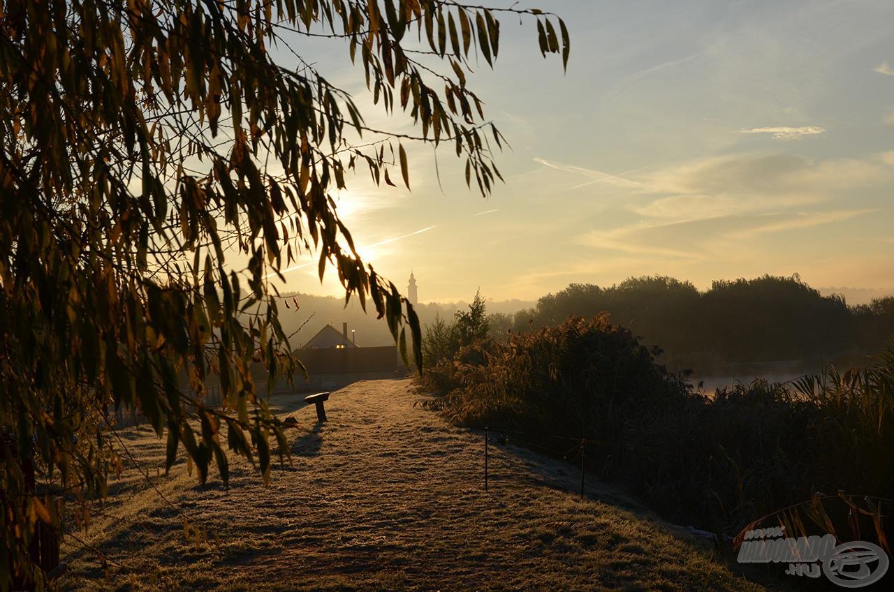 Csodálatos napfelkeltékben gyönyörködhettem novemberben Harsányban…