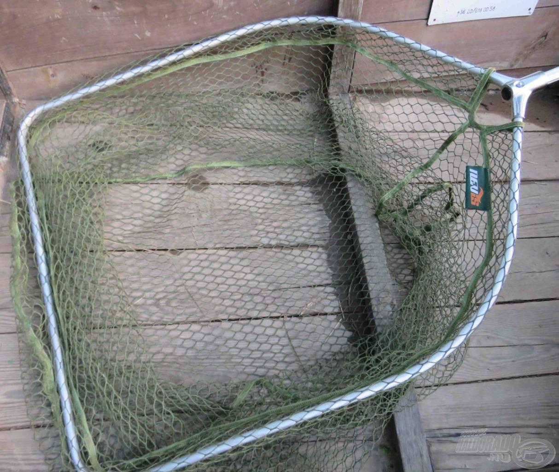 Általában kézzel veszem ki a halaimat, de néha jól jöhet egy óriási merítő háló
