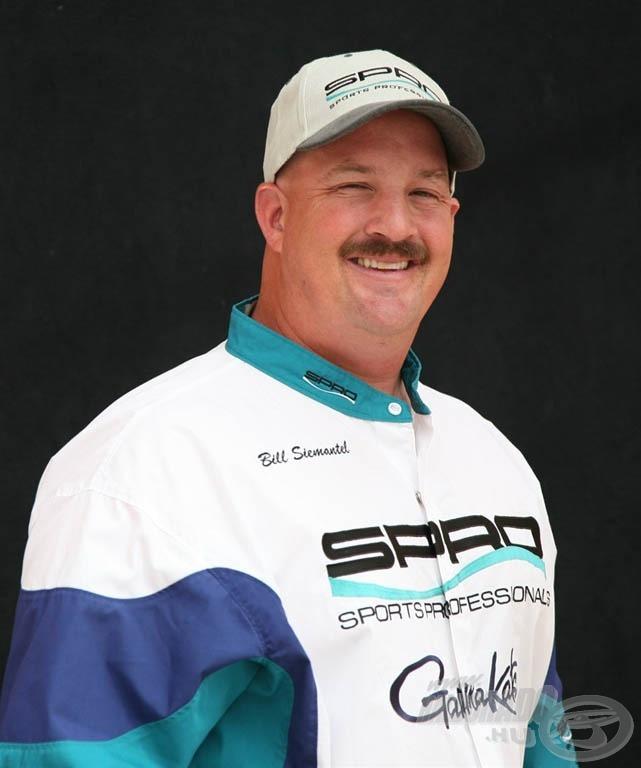 Bill Siemantel, a BBZ csalik megalkotója (forrás: www.spro.com)