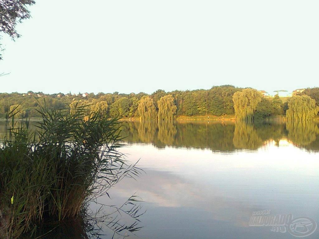 A Malomvölgyi II-es tó