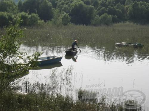 … vagy beeveznek egy Duna-ágba csukázni, pontyozni, mint az apatini Vagoni horgásztelepülés lakói