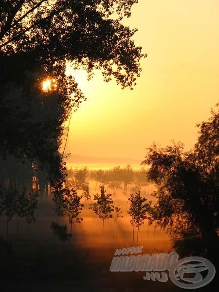 De hol vannak még a csodás hajnalok, a naplementék, a játékos kedvű természet színpompája, amely  reánk, horgászokra vár?!