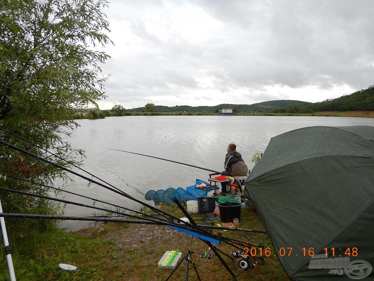 Egy komoly táborhely