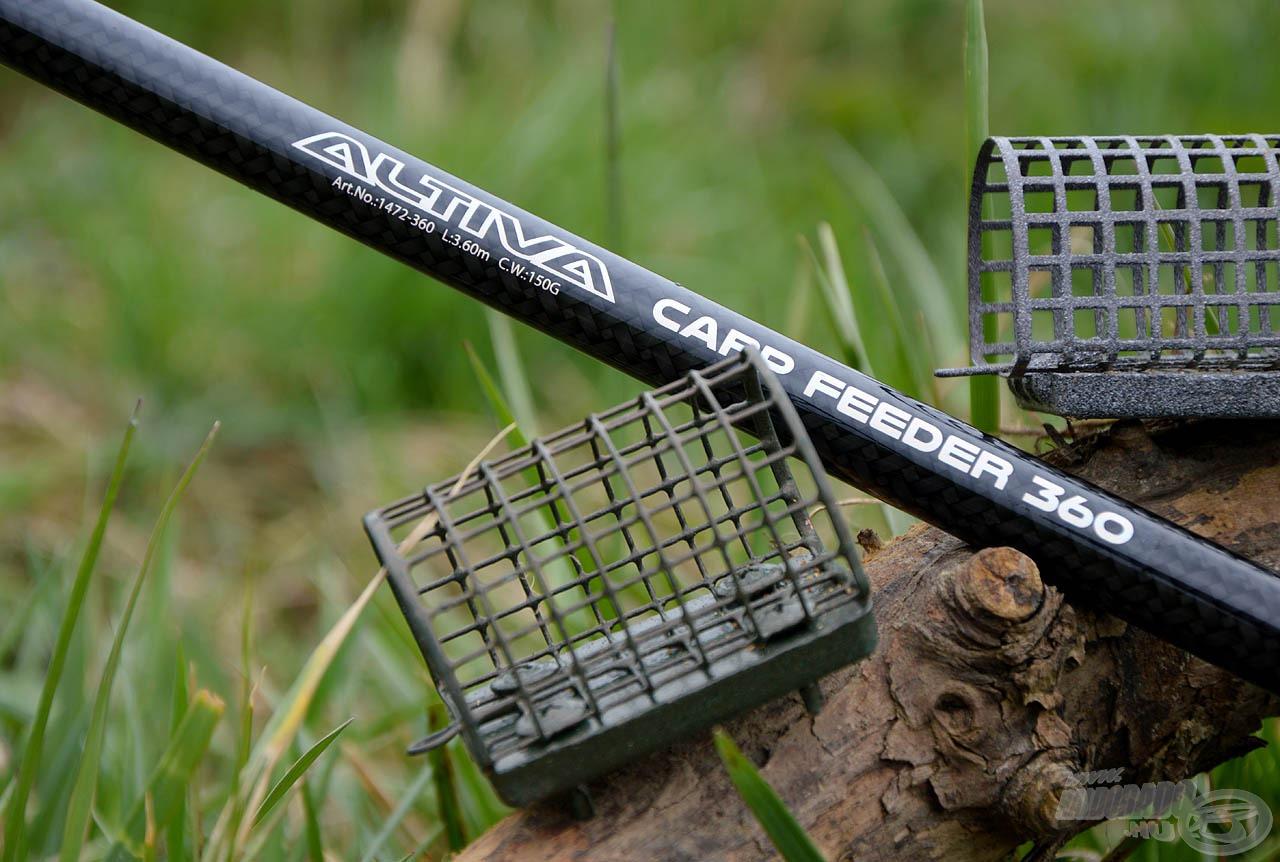 A 150 gramm dobósúlyú botok már a keményebb, folyóvízi horgászatra is alkalmasak