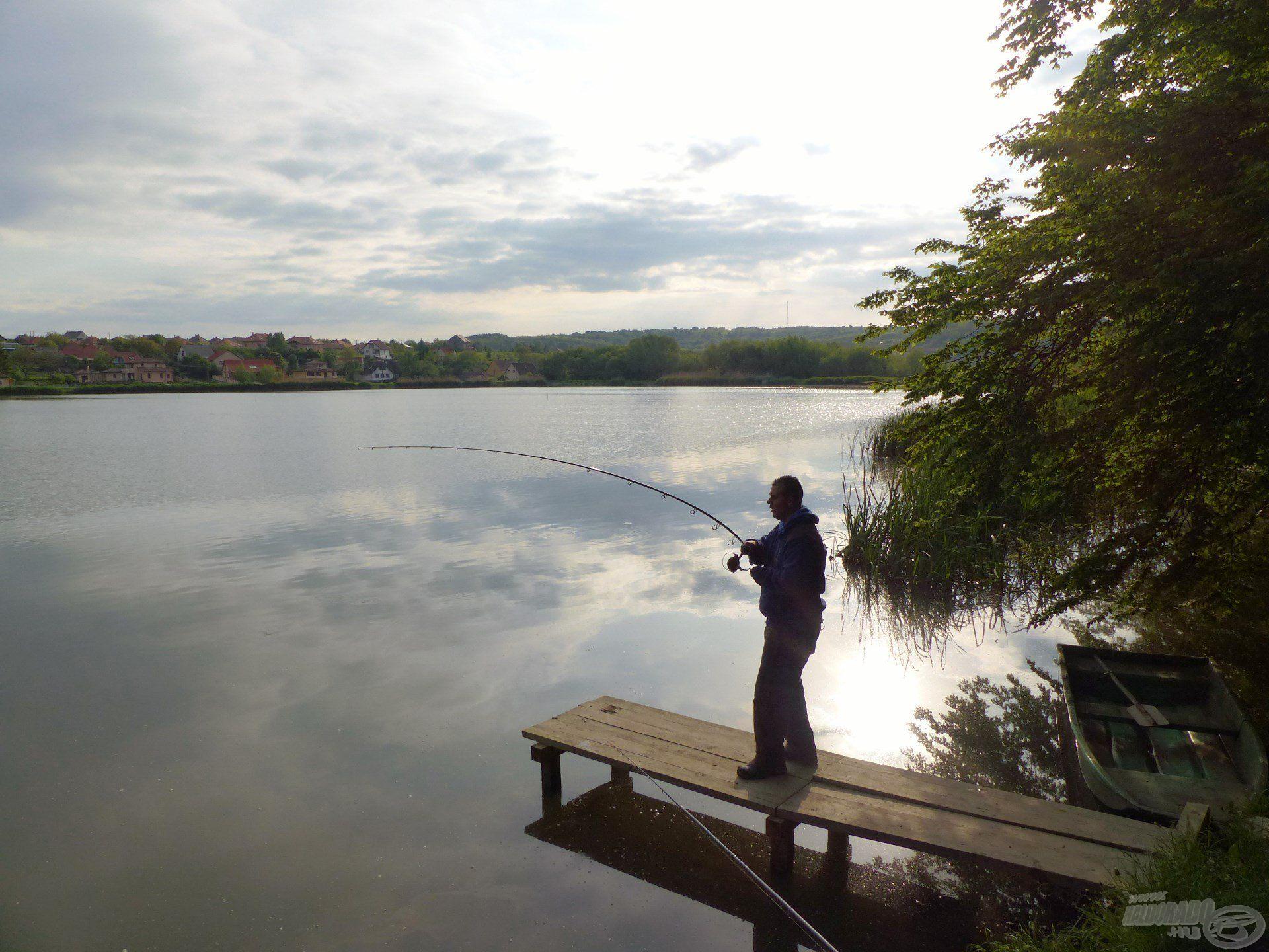A délelőtti órákban, már pakolás közben jött a túra utolsó hala…