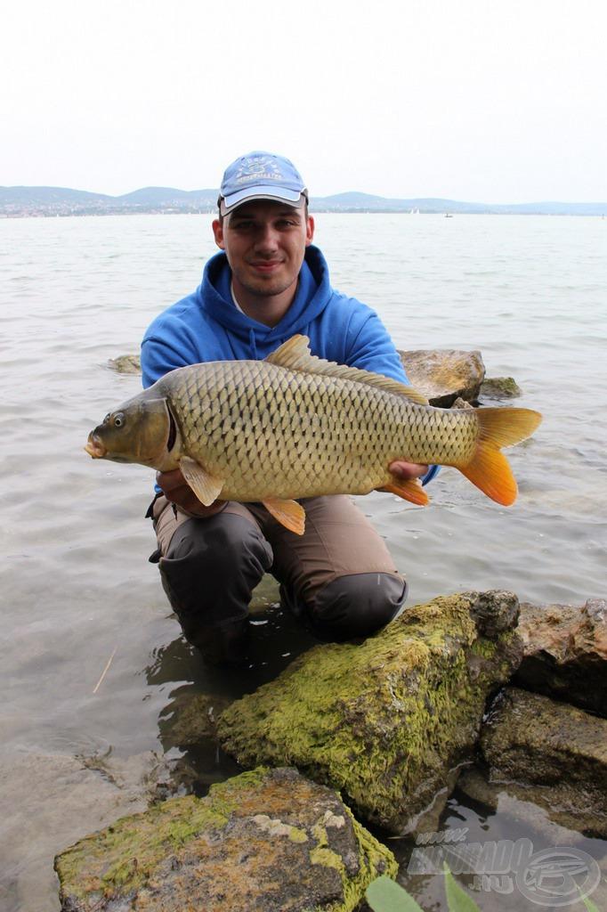 A nap legnagyobb halát sikerült kifognom ezzel a gyönyörű, 6,75 kg-os példánnyal