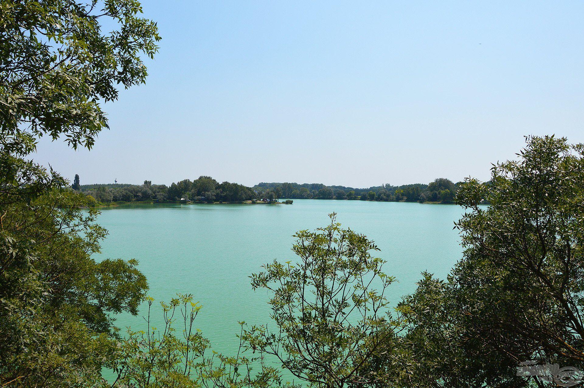 Augusztus közepén újra visszatértünk a Dabasi kavicsbánya tóra