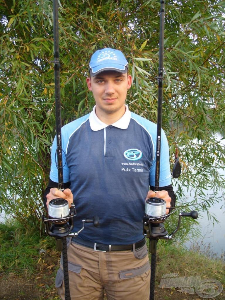 Speciális, nagyhalas feeder felszerelést használtam rab-tavi horgászatom során, mely tökéletesen megfelelt minden kritériumnak