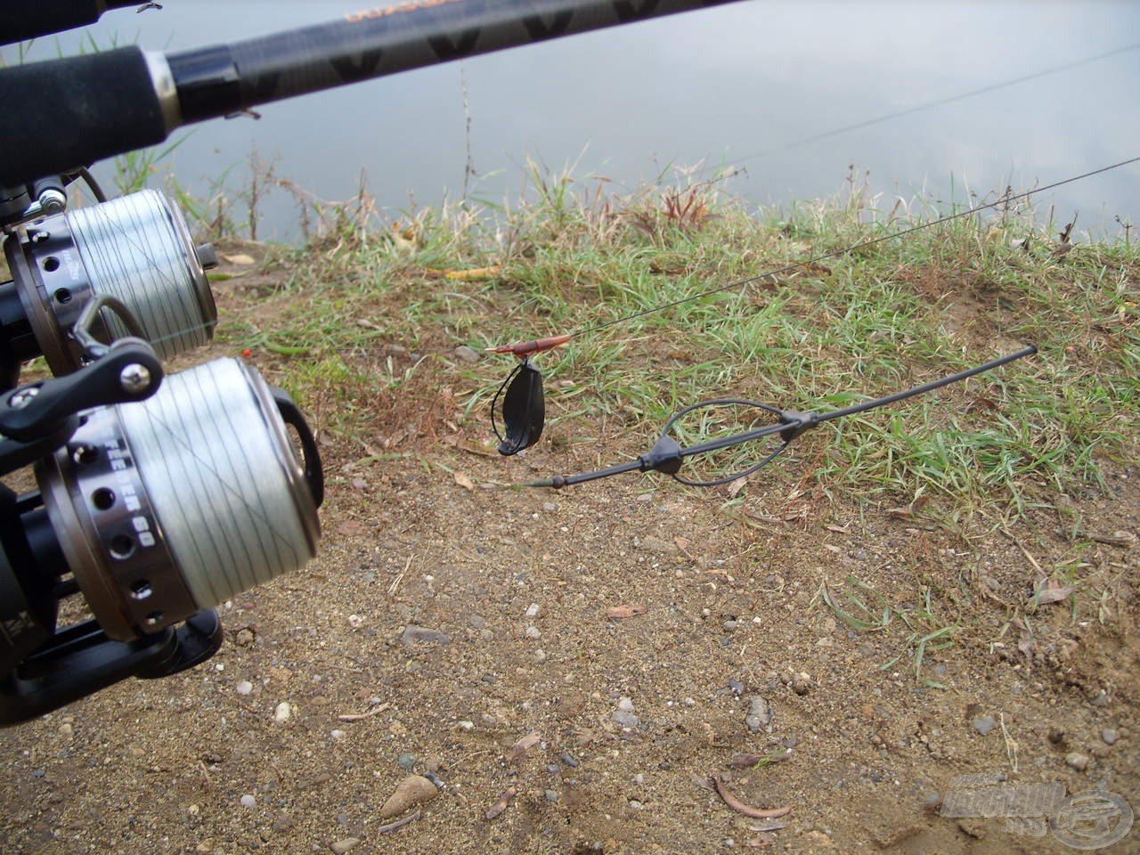 Két különböző nagyhalas feeder szereléket alkalmaztam