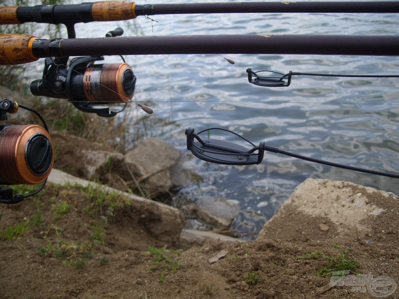 Aznap a method horgászaté volt a főszerep, így ennek megfelelően állítottam össze végszerelékeimet