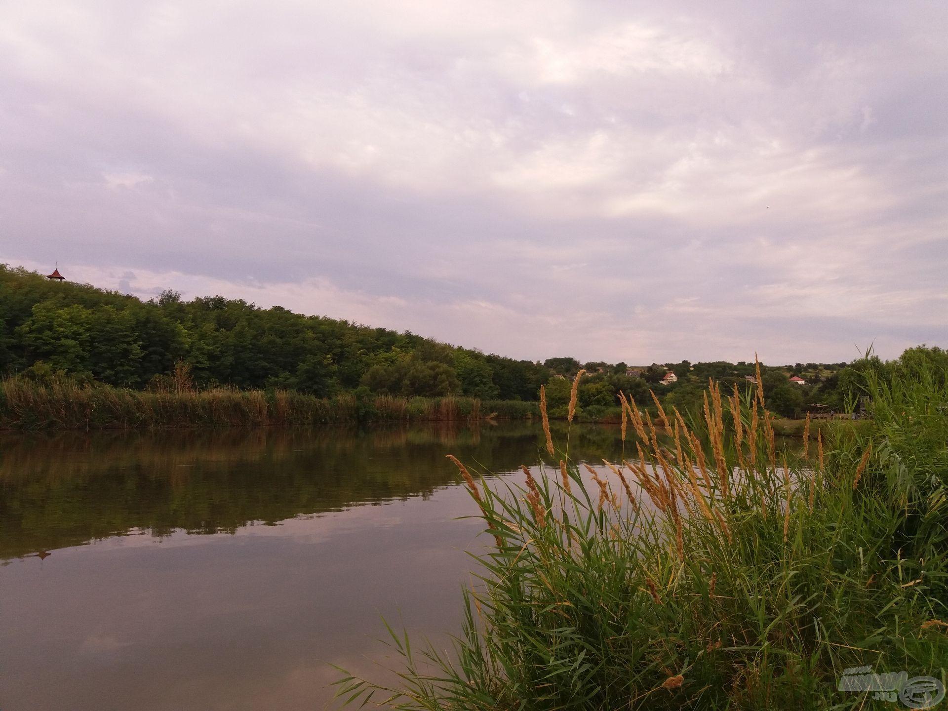 Reggeli vízpart