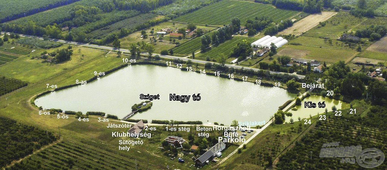 A Szászpa Horgásztó egy rendkívül igényesen kialakított, modern horgászvíz, mely páratlan szépséggel párosul
