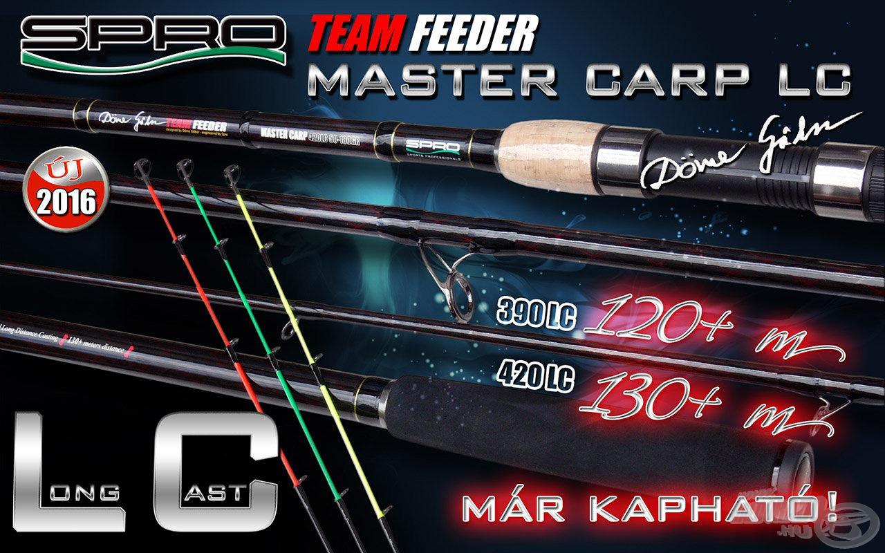 A Team Feeder Master Carp LC by Döme Gábor a Spro új csúcsminőségű távdobó feederbotja