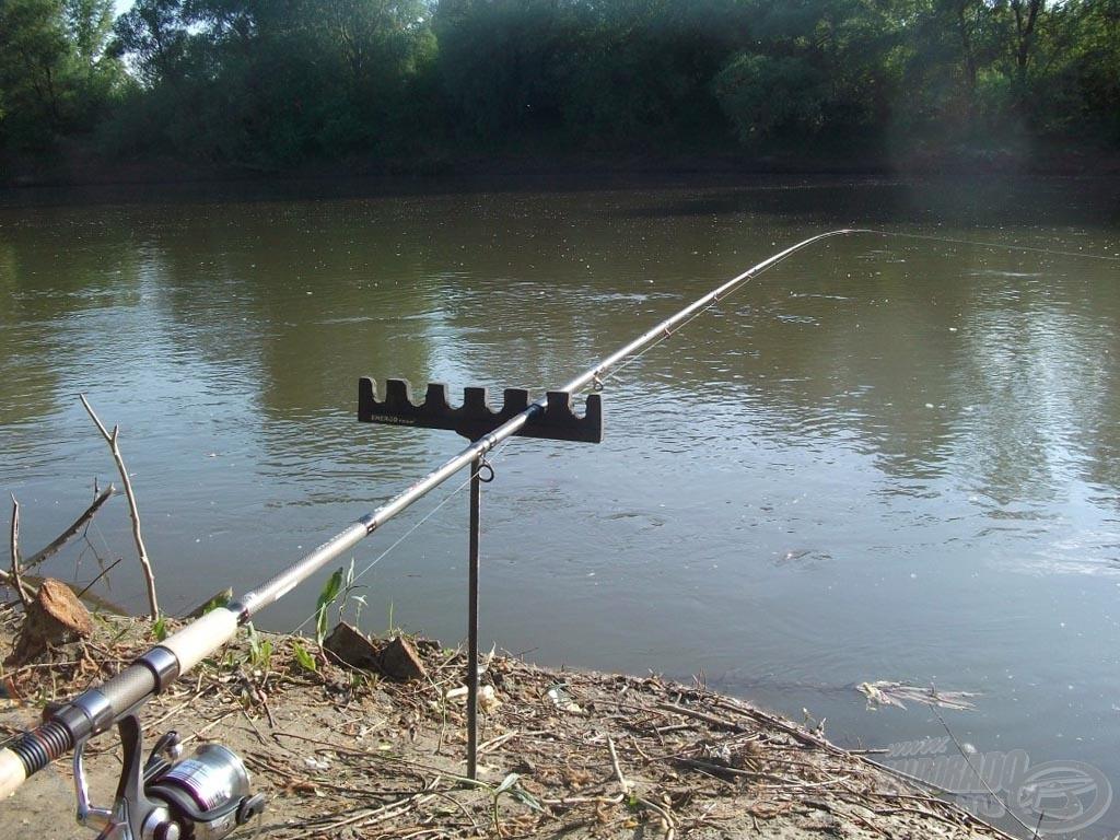 Horgászhelyem, amely már sok szép emléket adott nekem