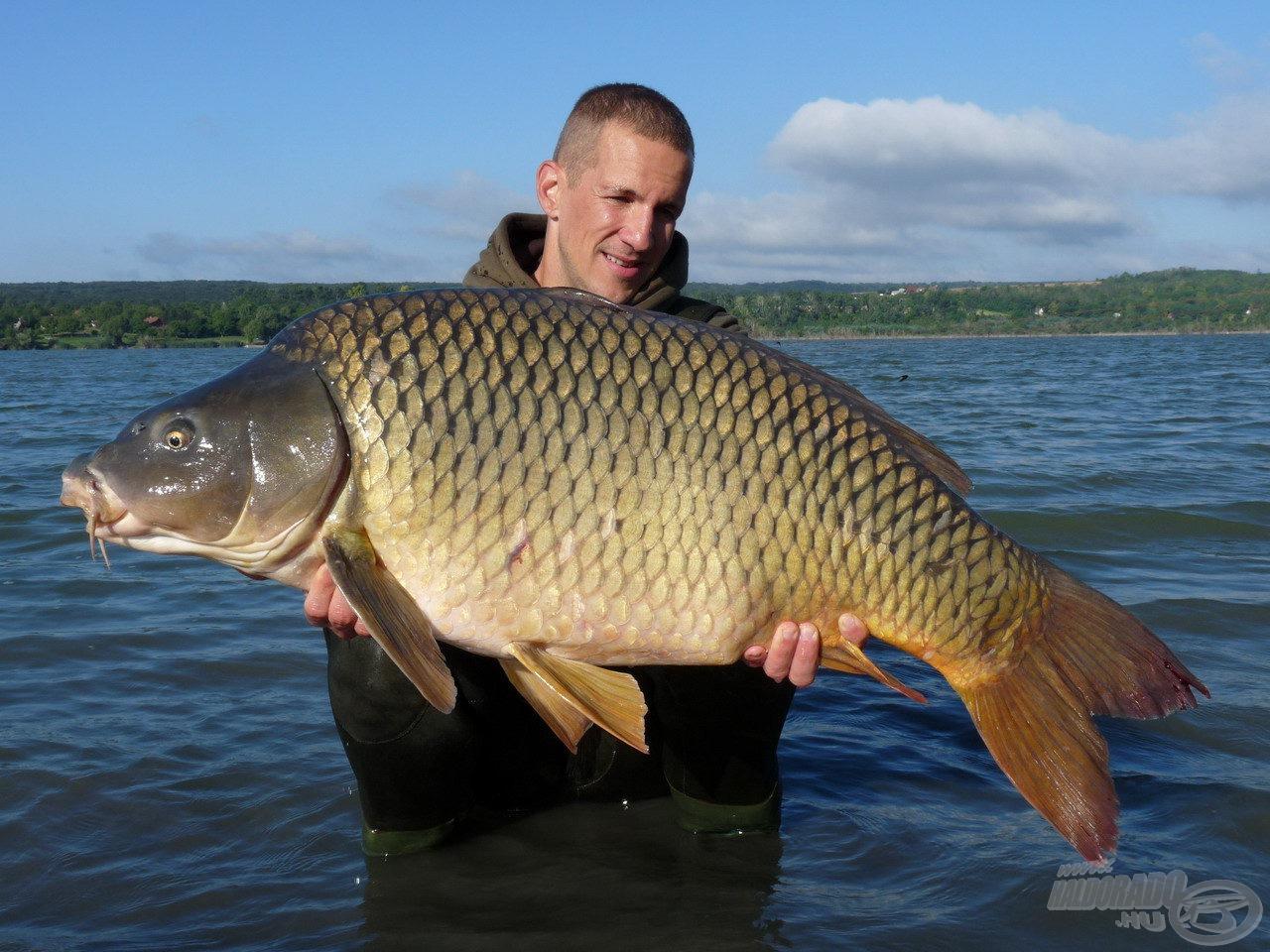 Kovács Tomi barátom, új egyéni rekordja: 20,60 kg