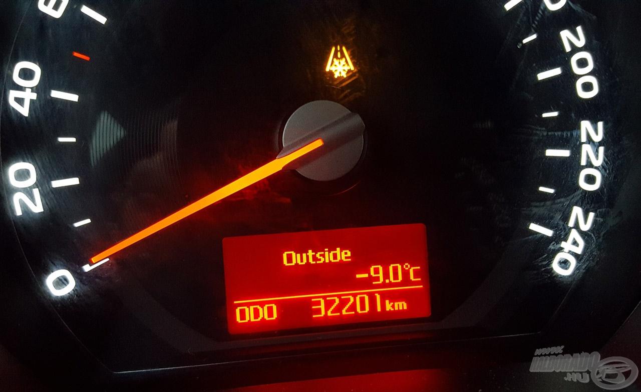-9 Celsius???? Ajaj