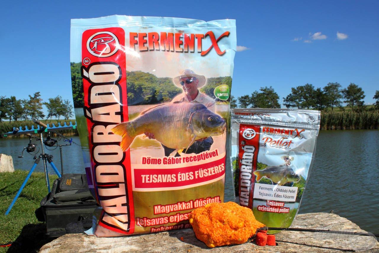 A FermentX Tejsavas Édes Fűszeres család a lehűlő vizek egyik favoritja