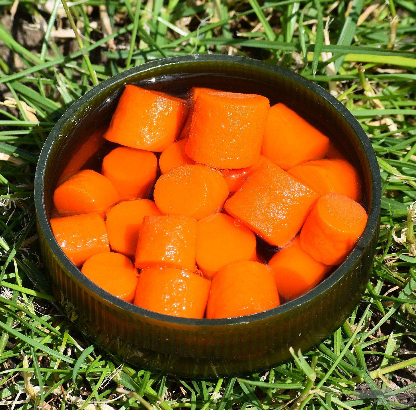 FermentX Natural Bait - Tejsavas Mézes Pálinka narancssárga színnel és tejsavas, mézes, barackpálinkás ízzel, illattal