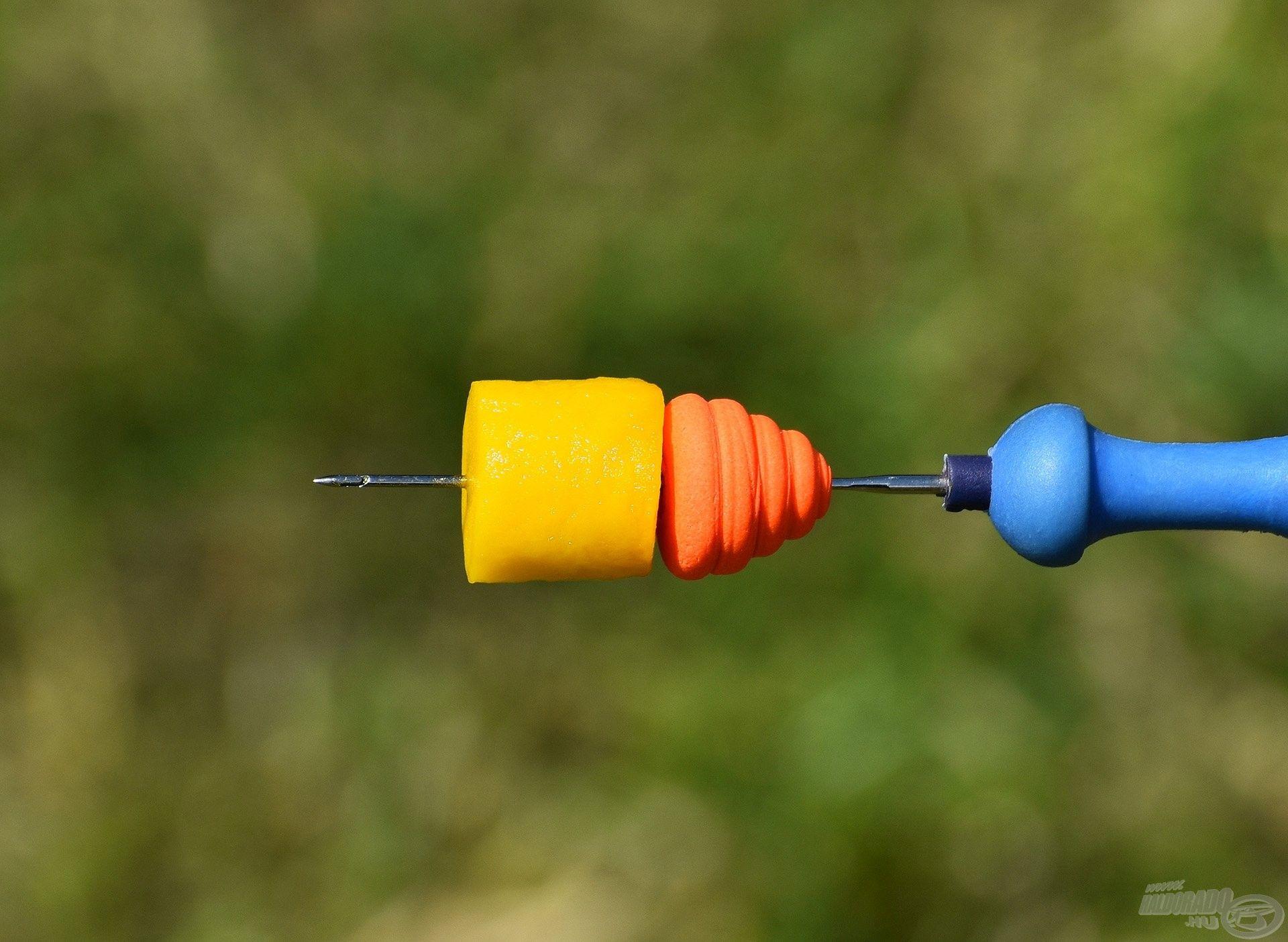 FermentX Natural Bait - Tejsavas Ananász (a nagyobbik, 16 mm-es szem) + HALDORÁDÓ TORNADO Pop Up XL - Mangó