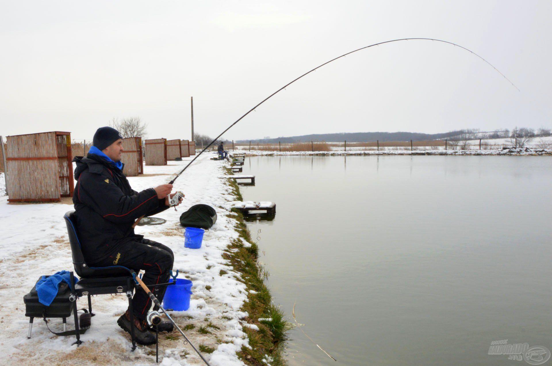 Az ésszerűség határáig érdemes finomítani akkor is, ha termetes halakra horgászunk