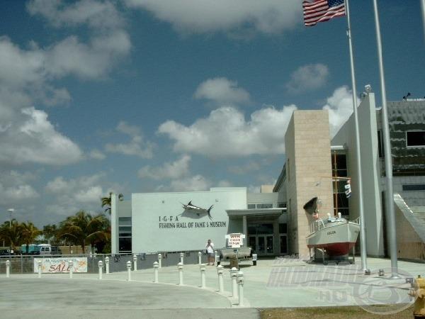 Floridai horgászatok - Az IGFA horgász múzeum megtekintése