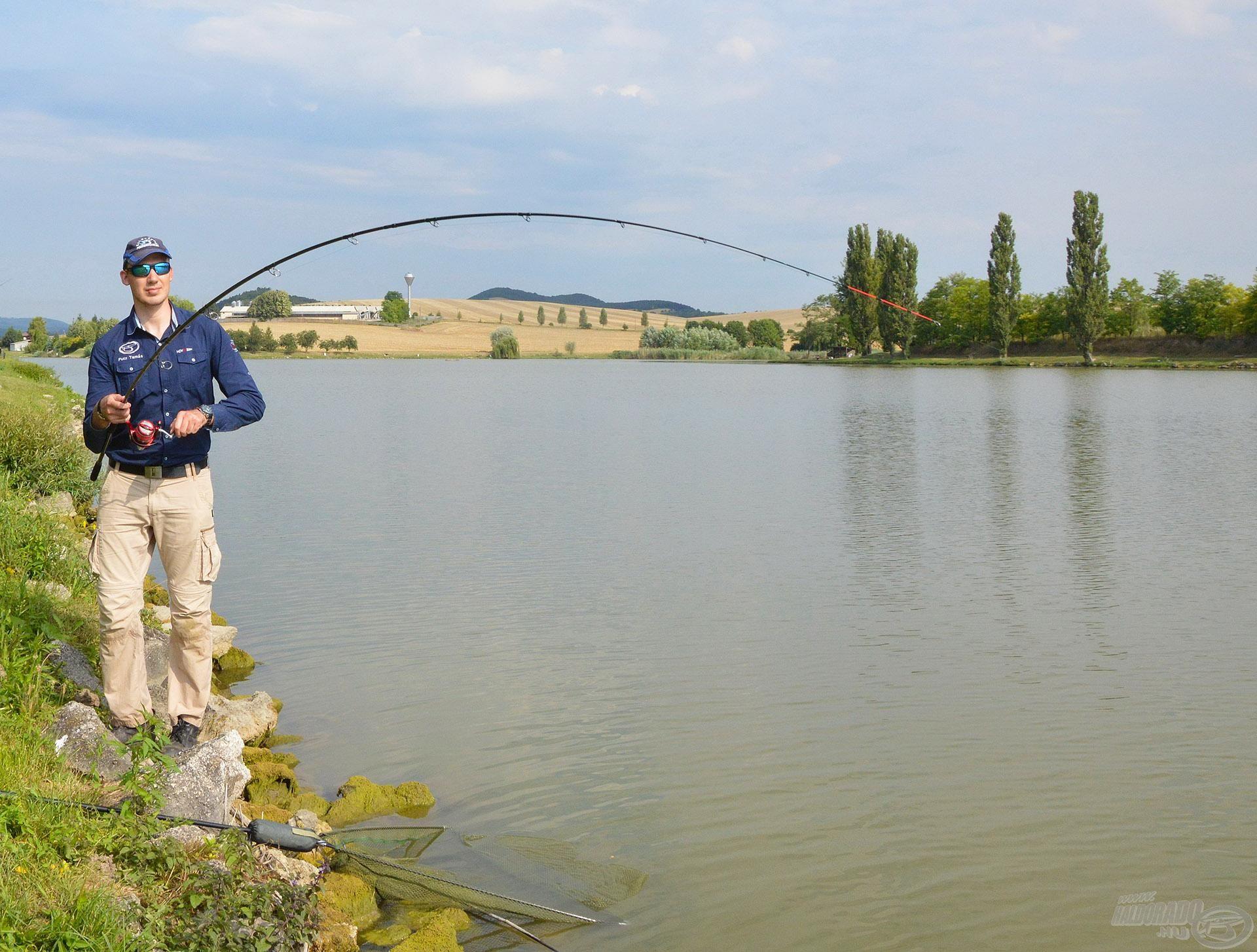 Gyakran akkor is meghozza a kapást, amikor a kényesen táplálkozó halak közt más kombinációk épp nem találnak gazdára