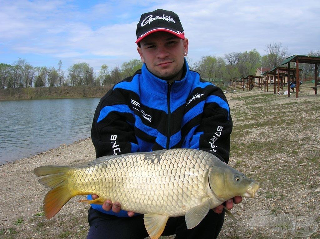 Ez a hal a Dunai Kagyló ízesítésű kukoricára csábult el
