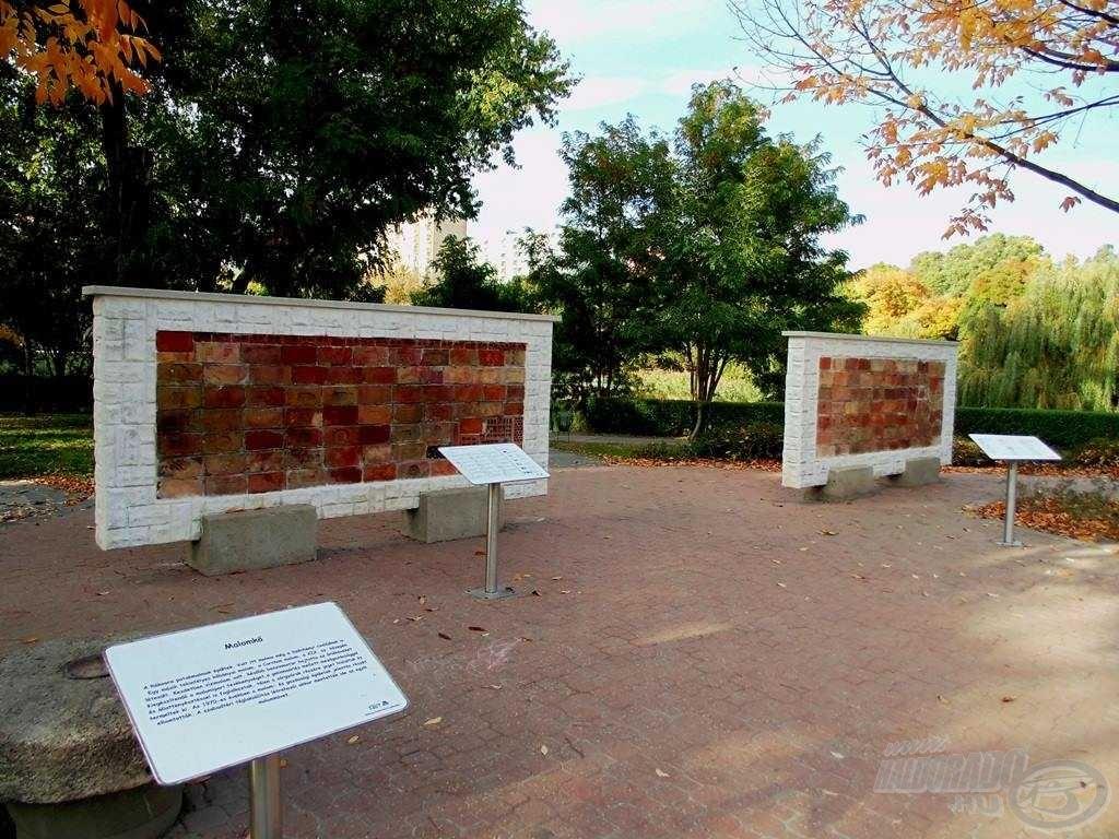 A tó melletti parkban találunk egy kiállítást is, ahol bepillanthatunk Kőbánya múltjába