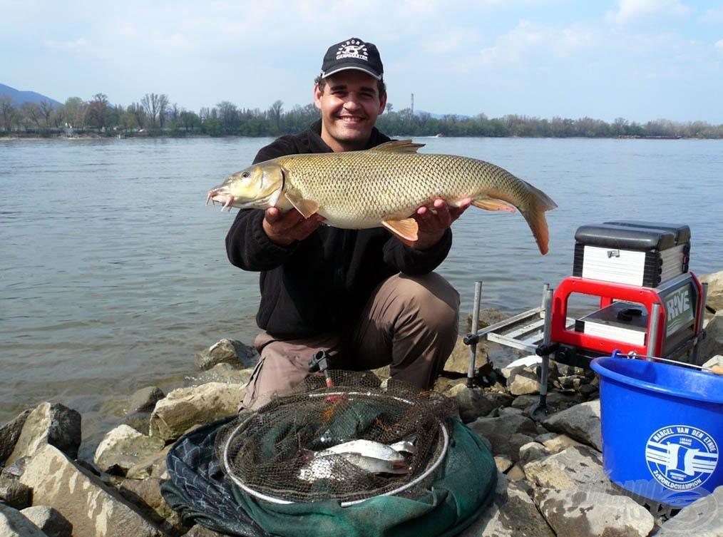 Kevés halat adott aznap a Duna, de az legalább minőségi volt