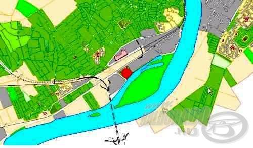 A Hárosi-öböl elhelyezkedése - térképen