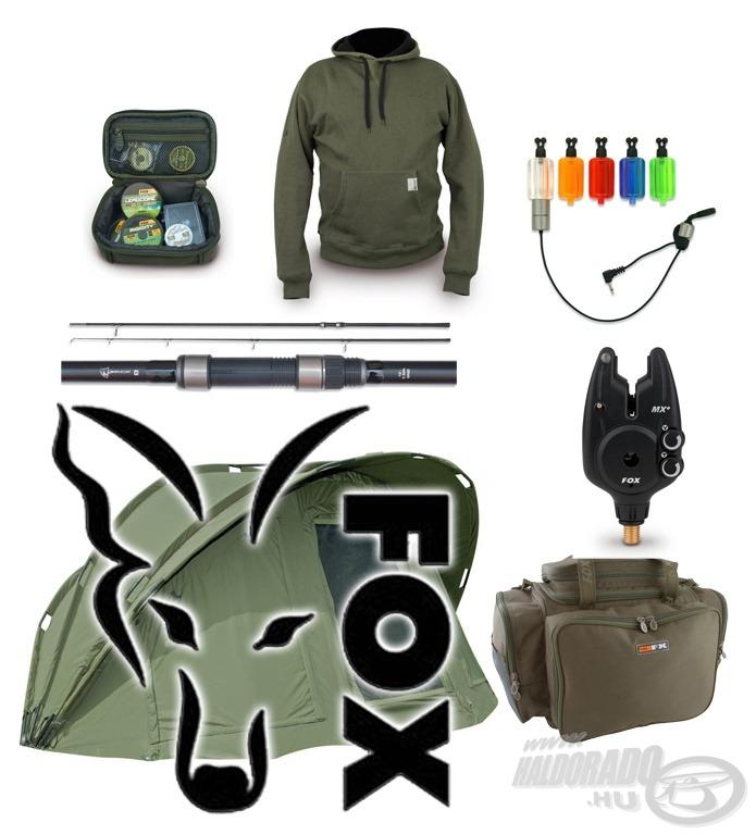 FOX újdonságok pontyhorgászoknak