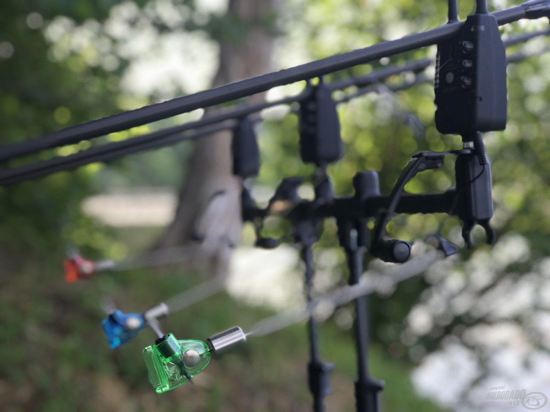 A távoli behúzós horgászatok alkalmával jobban kedvelem a nehezebb, karos swingereket