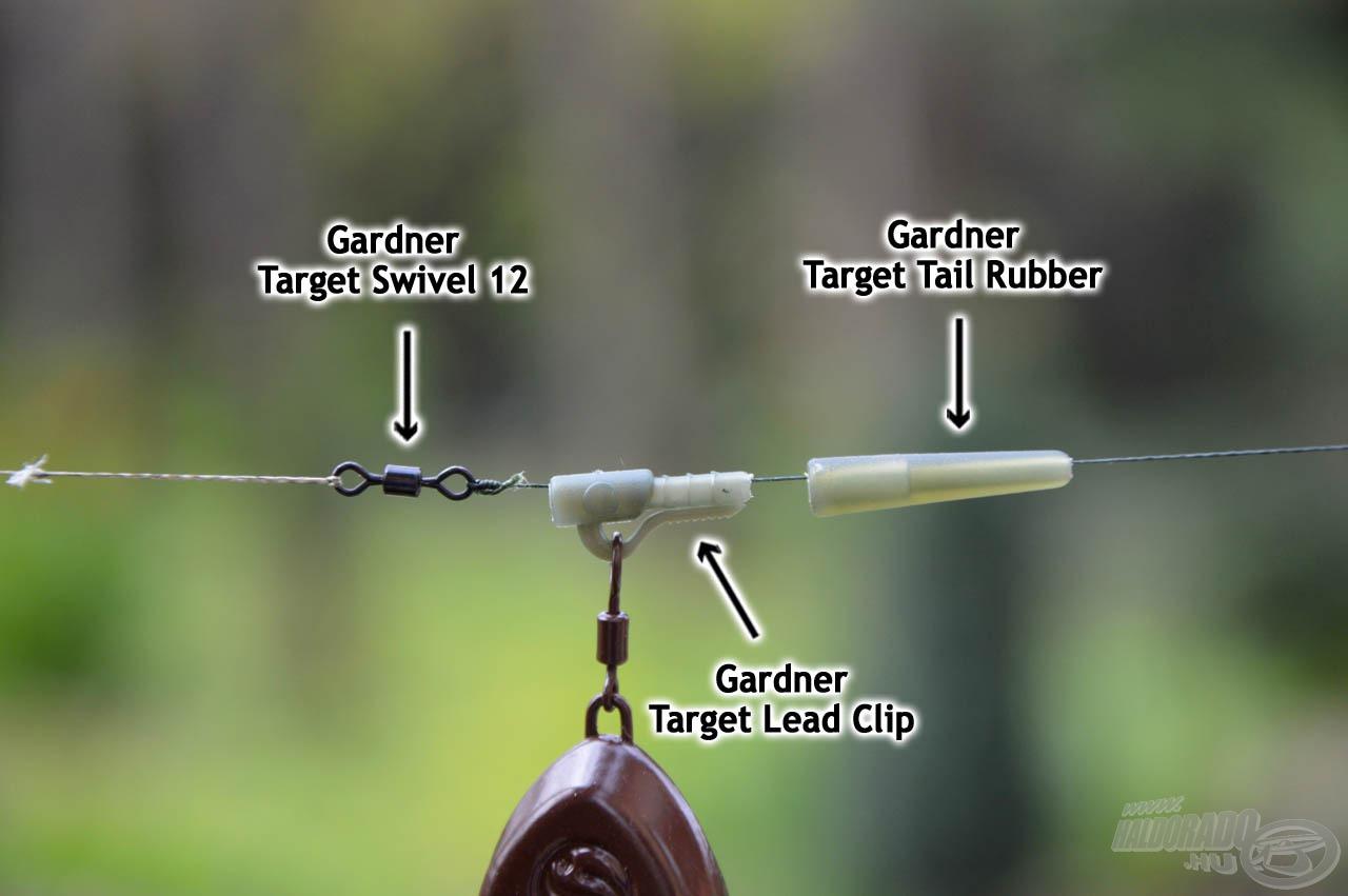 Gardner Target termékek a finom pontyhorgászathoz
