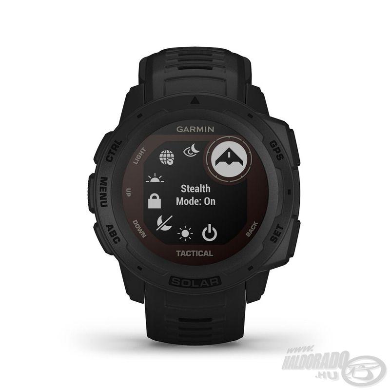 Lopakodó üzemmódban az óra nem tárol új adatokat, lekapcsolja a vezeték nélküli technológiákat és nem osztja meg a GPS helyzetet
