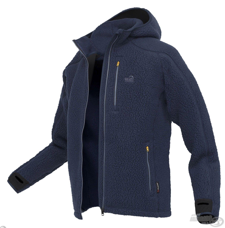 A Teddy kabát elérhető kék…