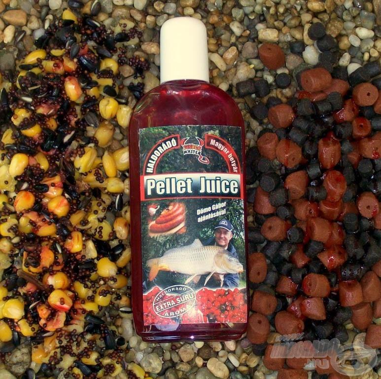 A Pellet Juice magvak és természetesen pelletek aromásítására való