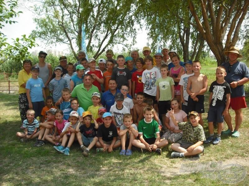 Székesfehérváron és környékén a gyermekek között nagy népszerűségnek örvend a 11 éve futó gyermek napközis horgásztábor
