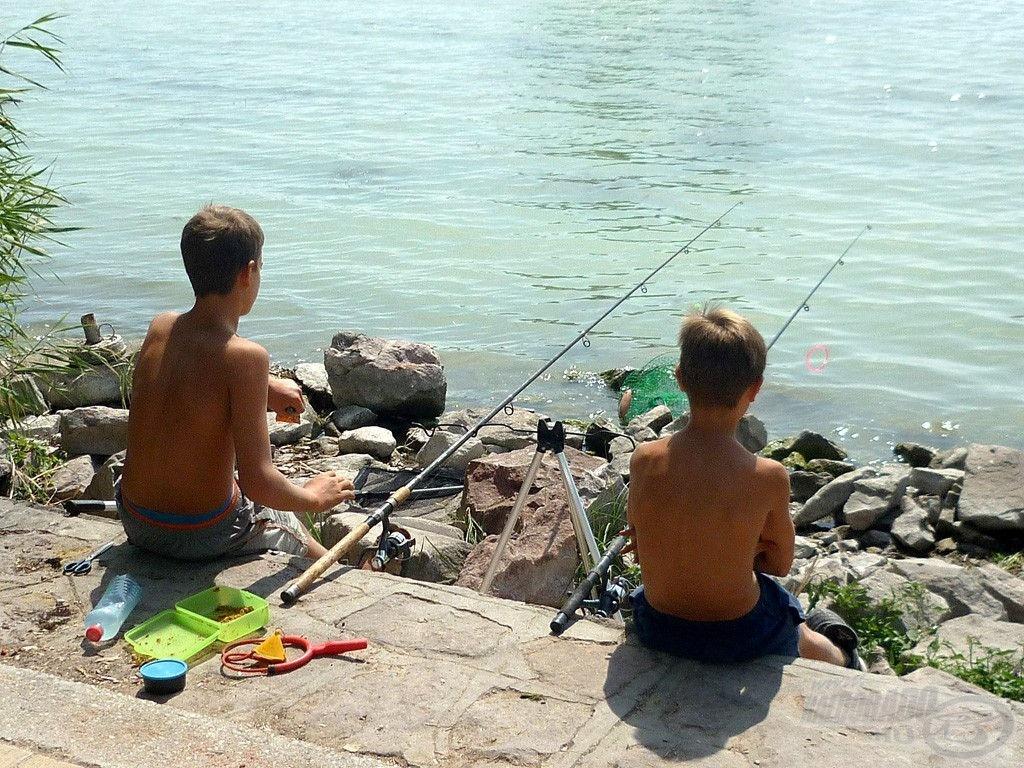 Balatoni horgászat a barátommal