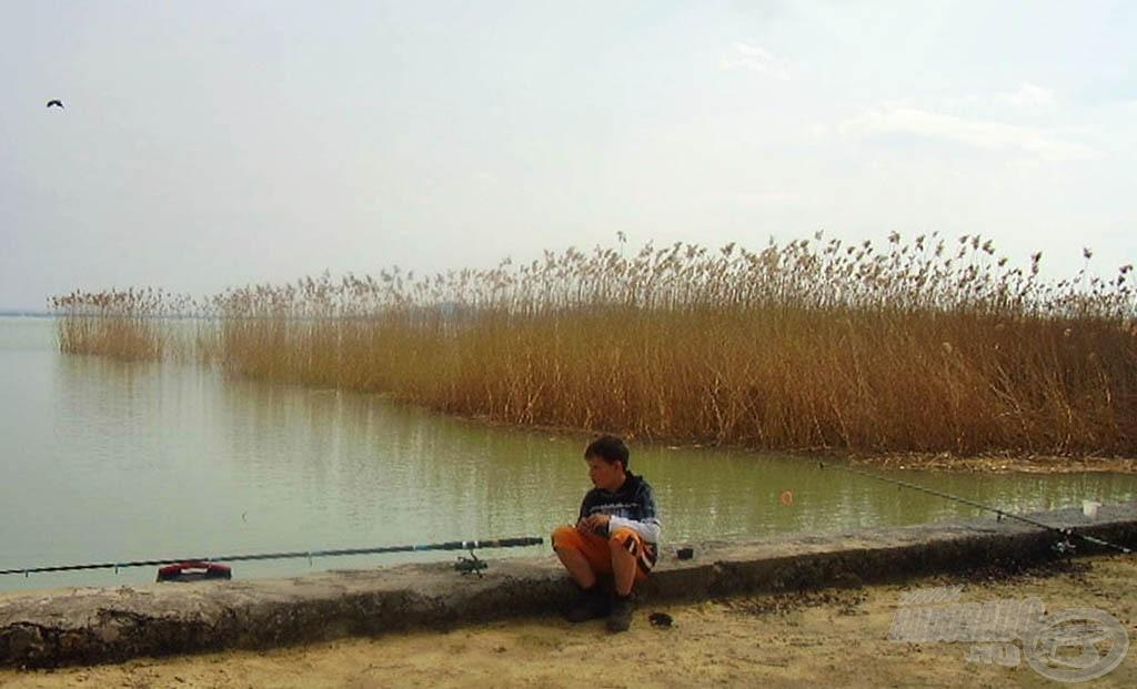 Egy balatoni horgászat