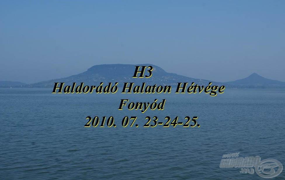 H3, a beszámoló…