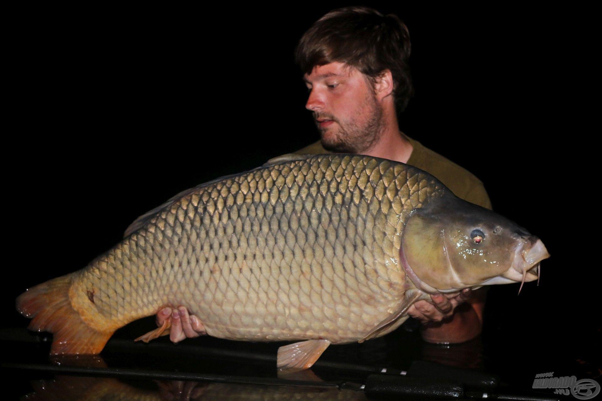 A túra legnagyobb hala