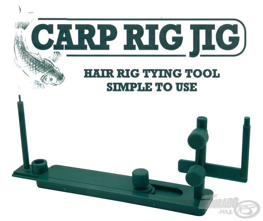 A Hair Rig Tying Tool, megkönnyíti a horogelőke készítését