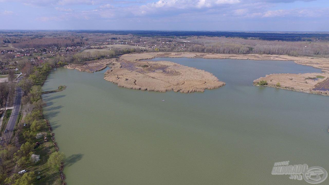 A második helyszín a Kiskunhalas határában elterülő egyesületi tó, a Sóstó lesz