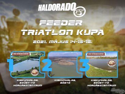 Haldorádó Feeder Triatlon Kupa 2021 versenykiírás