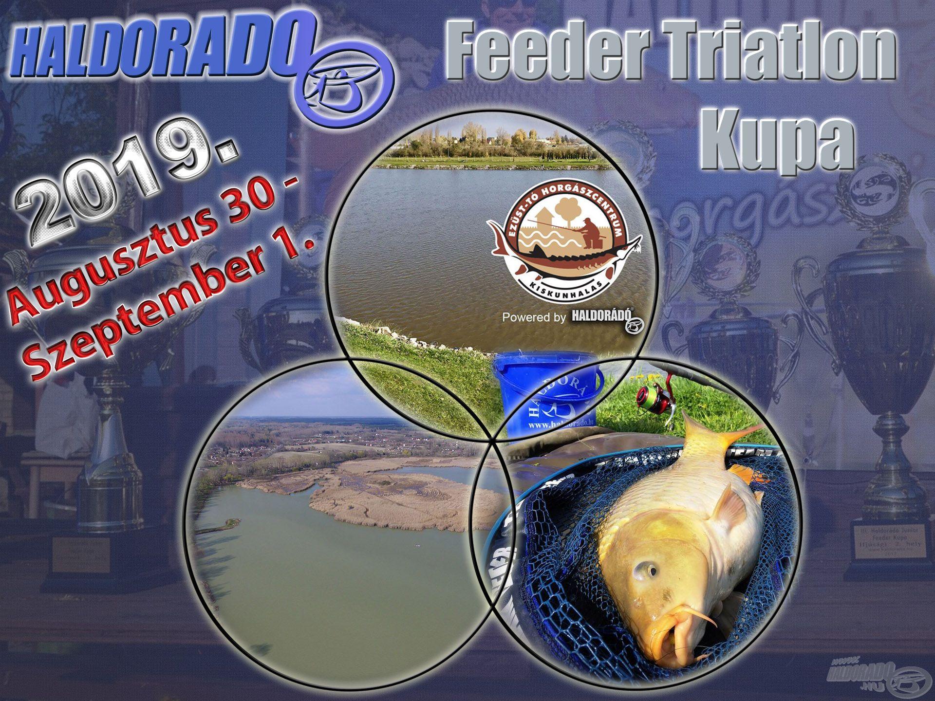 Haldorádó Feeder Triatlon Kupa versenykiírás - 2019