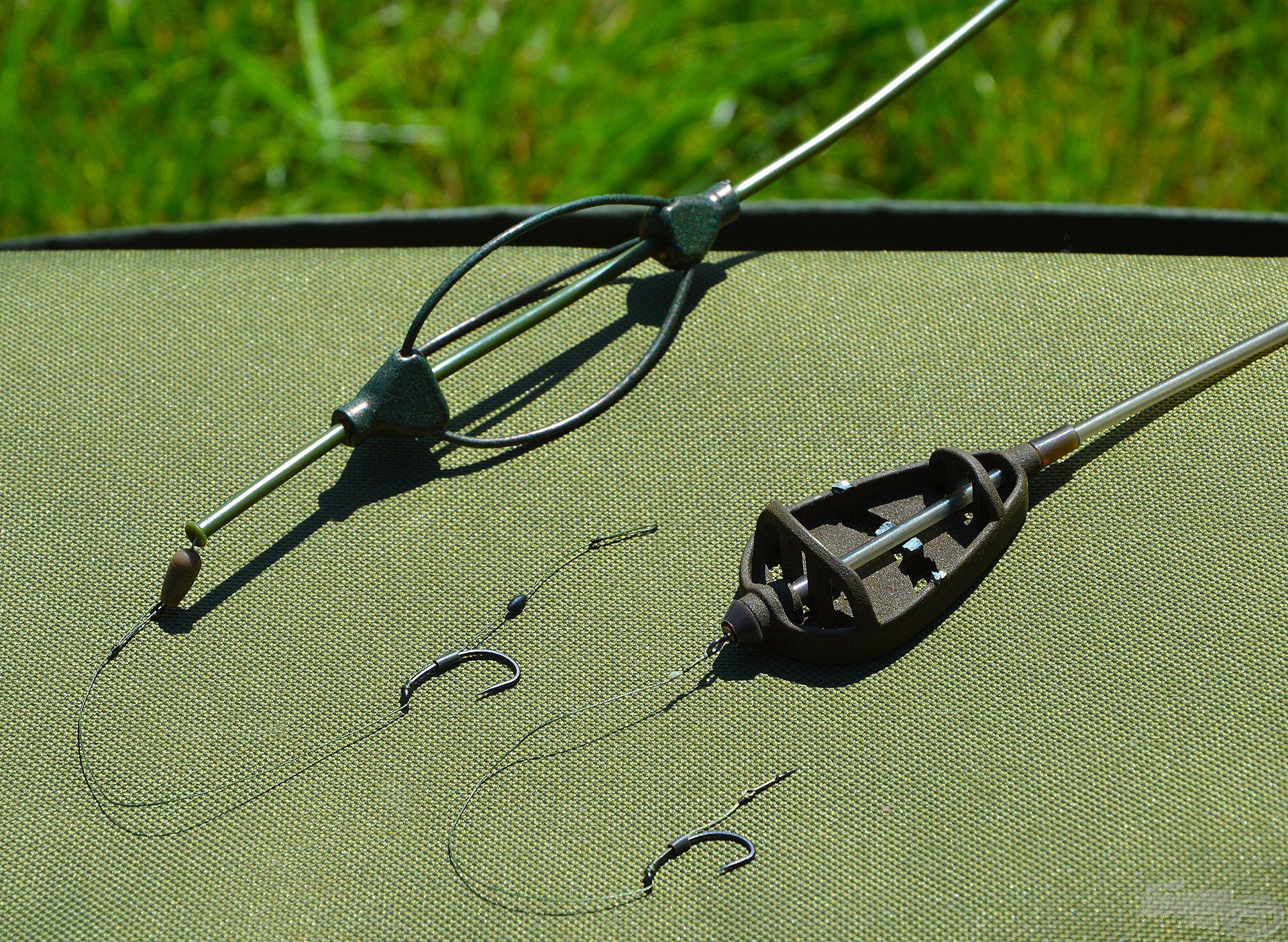 Feeder technikával és végszerelékkel lehet a versenyeken horgászni