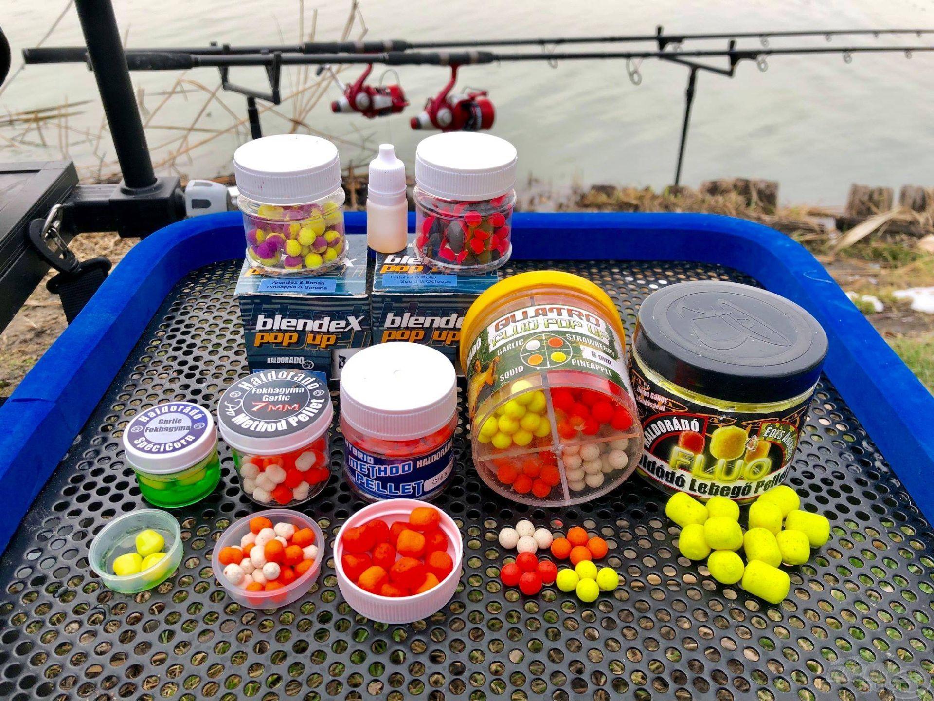 Szinte mindenféle csali használata engedélyezett, így a horgászok szabadon kísérletezhetnek a siker érdekében