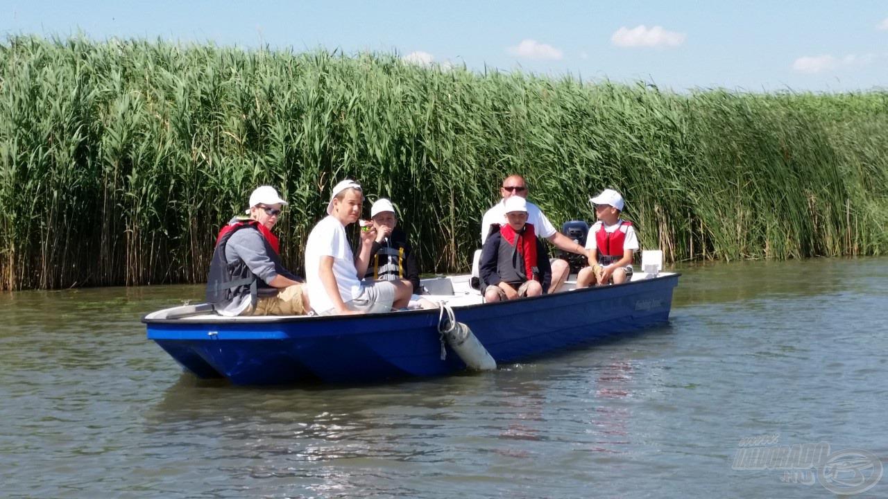 Biztonságos csónakokkal járjuk a vizeket