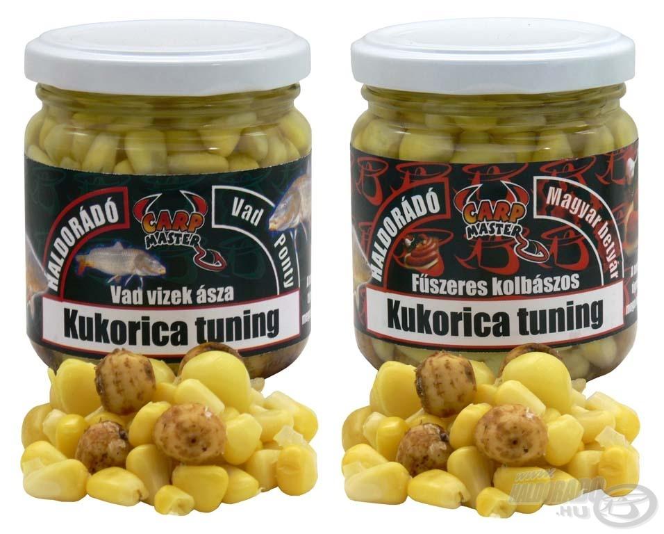 A Kukorica Tuning család két új tagja a Vad Ponty és a Magyar Betyár